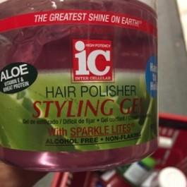 Hair polisher styling gel 454g