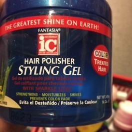 Hair polisher styling gel 454g