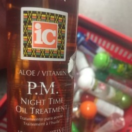 Aloe/vitamin P.M night time oil treatment 237ml