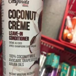 Coconut creme leave in conditioner 237ml