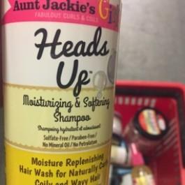Heads up moisturizing & softening shampoo 355ml