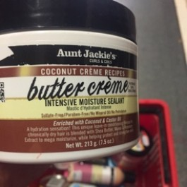 Butter creme with coconut & caster oil 213g