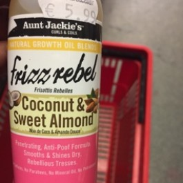Frizz rebel coconut & sweet almond 118ml