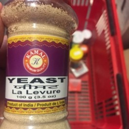 Yeast la levure 100g