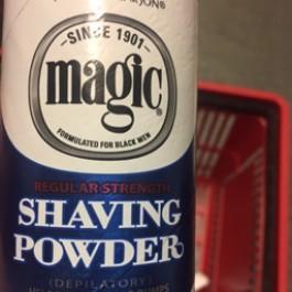Shaving powder regular strength 142g