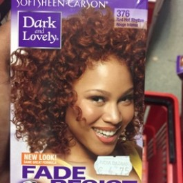 Fade resistant rich conditioning color red hot rhythm 376