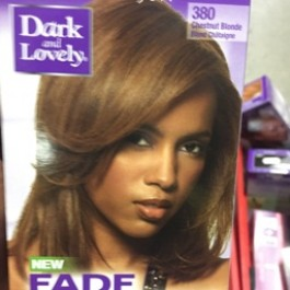 Fade resistant rich conditioning color chestnut blonde 380
