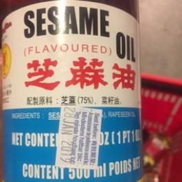 Sesame oil  flavoured 1ltr