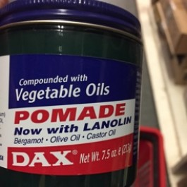Pomade compounded with vegetable oils 213g