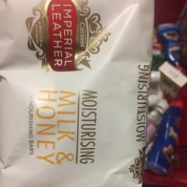Milk & honey soap 3 bars