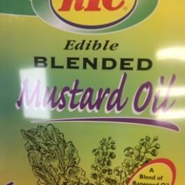 Edible blended musturd oil 4ltr