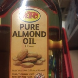 Pure almond oil 500ml