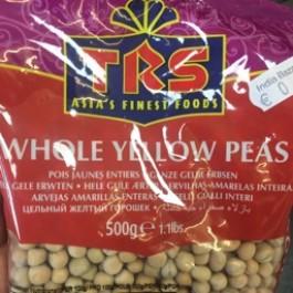 Whole yellow peas 500g