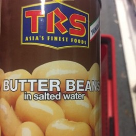 Butter beans in salted water 400g