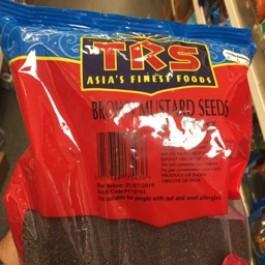 TRS BROWN MUSTARD SEEDS 1kg