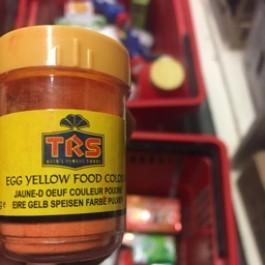 Egg yellow food colour 25g