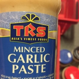 Minced garlic paste 300g