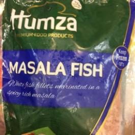 Humza masala fish 600g
