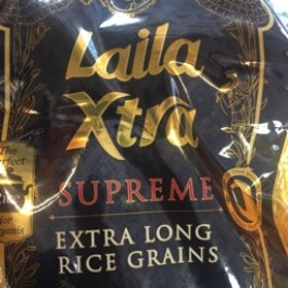 Laila supreme extra long rice 5kg