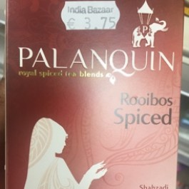 Palanquin rooibos spiced 40 bags
