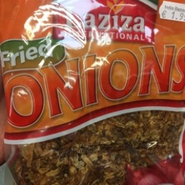Laziza fried onions 400g
