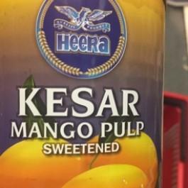Kesar mango pulp 850g