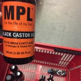 Black castor oil 100ml