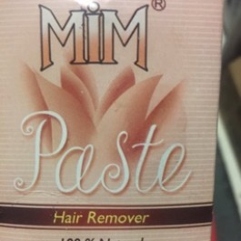 Hair remover 100% natural
