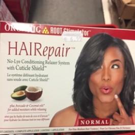 Hair repair with cuticle shield normal