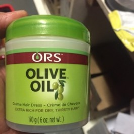 Olive oil creme hair dress 170g