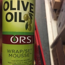 Olive oil hair set mousse 207ml