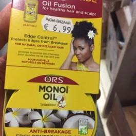 Monoi oil edge control hair gel 64g