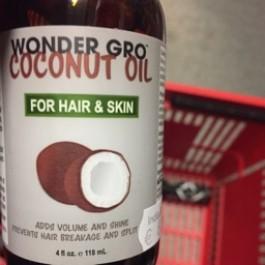 Coconut oil for hair & skin 118ml
