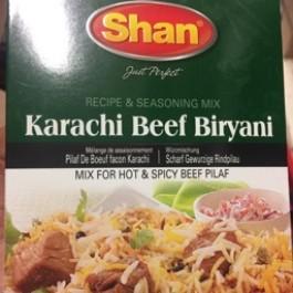 Shan Karachi Beef Briyani 60g