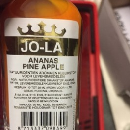 Jo-la ananas pine apple 50ml
