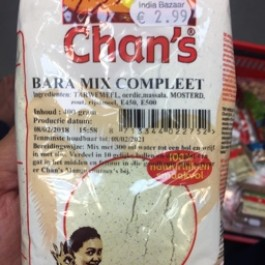 Chans bara mix complete 400g