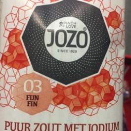 Puur zout met jodium 1kg