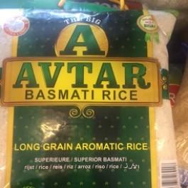 Avtar basmati rice 10lbs