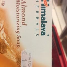 Almond moisturizing soap
