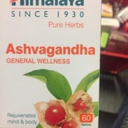 Ashvagandha general wellness 60 tabs