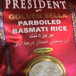 President golden sella basmati rice 5kg
