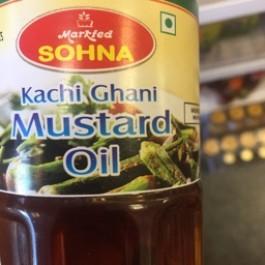 Kachi ghani mustard oil 500ml