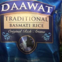Traditional basmati rice 20kg