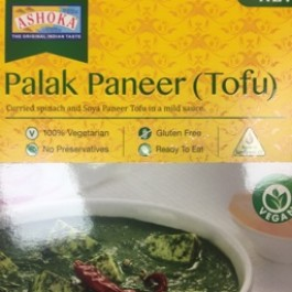 Palak paneer tofu 280g