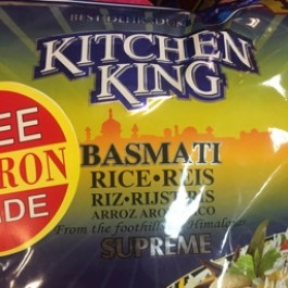 Kitchen king basmati rice 5kg