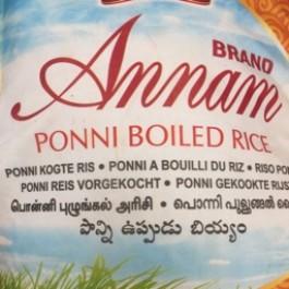 Ponni boiled rice 10kg