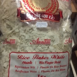 Rice flakes white 1kg