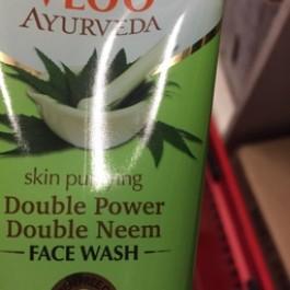 Double power double neem face wash