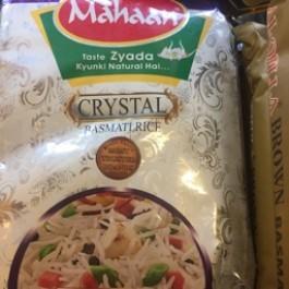 Mahaan crystal basmati rice 5kg