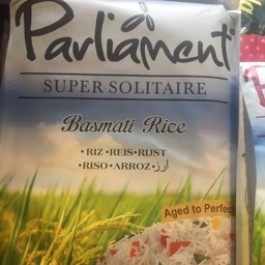 Parliament super solitare basmati rice 5kg